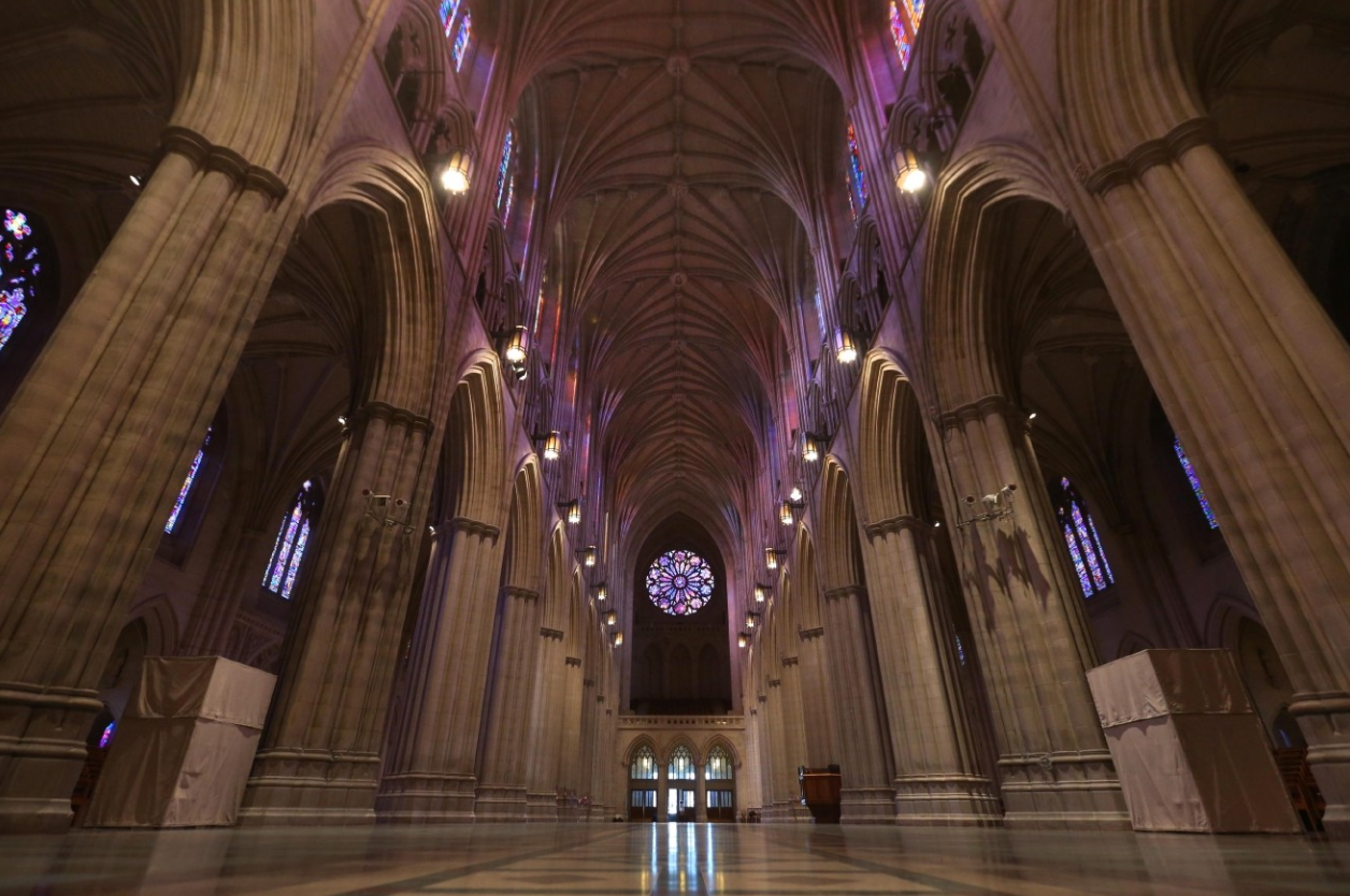 Tour the National Cathedral. Highlights tours are included with Cathedral admission and offered when available every half hour Monday-Friday from 10:15 to 11:15 and 1 to 3:30; Saturdays 10:15 to 3; Sundays as available. TICKETS: Adults (ages 18+): $12; Youth (ages 5 - 17) and Teachers with ID: $8; Children (under 5): Free. (Photo: Amanda Andrade-Rhoades/DC Refined)